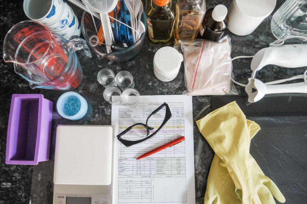 Seife selber sieden in der eigenen Küche